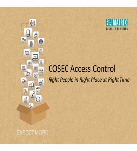 COSEC ACCESS CONTROL