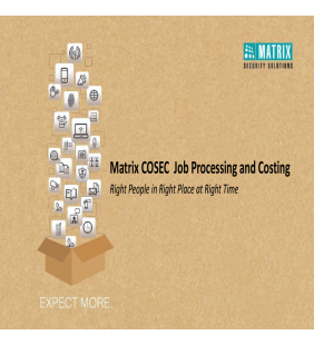 COSEC JOB AND PROJECT COSTING
