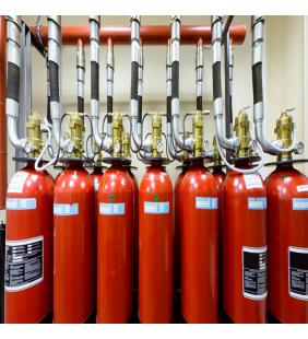automatic gas extinguishing